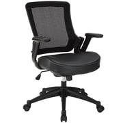 Modway 848387007607 Mid-Back Office Chair, Black