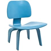 Modway Fathom Plywood Lounge Chair, Light Blue