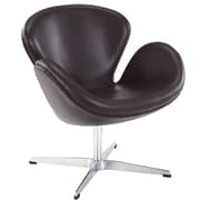 Modway Leather Wing Lounge Chair, Brown (EEI-527-BRN)