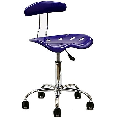 Modway Rush Acrylic Task Chair, Blue