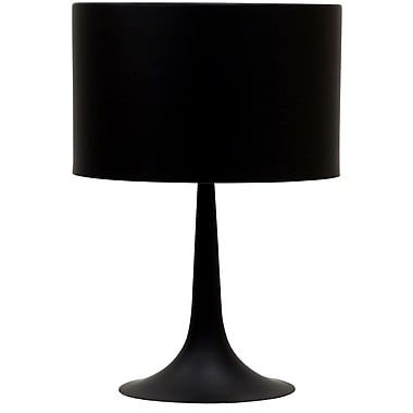 Modway Silk Table Lamp, Black