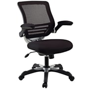 Modway Edge Mesh Fabric Mid Back Office Chair, Black