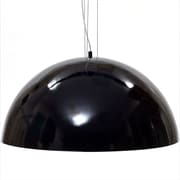"Modway Flow 24"" Ceiling Fixture, Black"