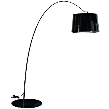 Modway 60W Liberty Floor Lamp, Black