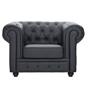 Modway Chesterfield Armchairs