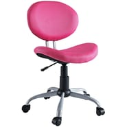 Modway Gina Padded Fabric Low Back Task Office Chair, Pink