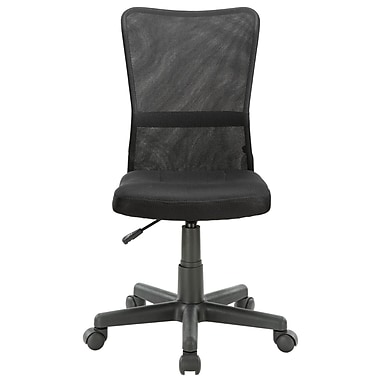 Modway Comfort-Flex Mesh Fabric Low Back Task Office Chair, Black