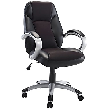 Modway Resonate Padded Mesh High Back Ergonomic Task Office Chair, Black