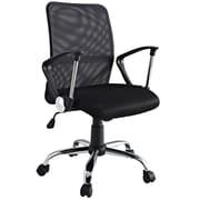 Modway Pilot Padded Mesh High Back Task Swivel Office Chair, Black