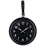 Modway EEI-770 Pan Wall Clock, Black