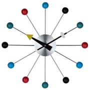 Modway EEI-774 Ball Wall Clock, Assorted