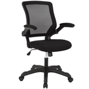 Modway Mesh High-Back Office Chair, Adjustable Arm, Black