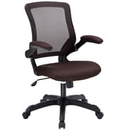 Modway Veer Mesh Fabric High Back Office Chair, Brown