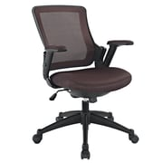 Modway Mesh Aspire Mid Back Task Office Chair, Brown
