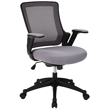 Modway Mesh Aspire Mid Back Task Office Chair, Gray