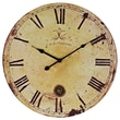 Modway EEI-843 Vintage Expression Wall Clock, Tan