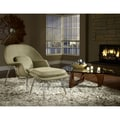 Modway 3 Piece W and Triangle Living Room Set, Oatmeal