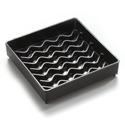 "Carlisle 1102003 4"" Plastic Drip Tray"