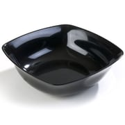 Carlisle 5 qt, 11.75'' Small Flared Bowl, Black