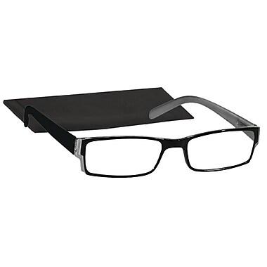 Peeperspecs® Navigator Black Reading Glasses, +2.00