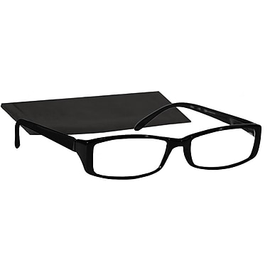 Peeperspecs® Connoisseur Black Reading Glasses, +2.50