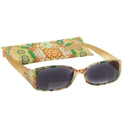 Peeperspecs® Luau Bi-Focal Yellow Reading Sunglasses, +1.50