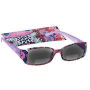 Peeperspecs® Luau Bi-Focal Lilac Reading Sunglasses, +2.50