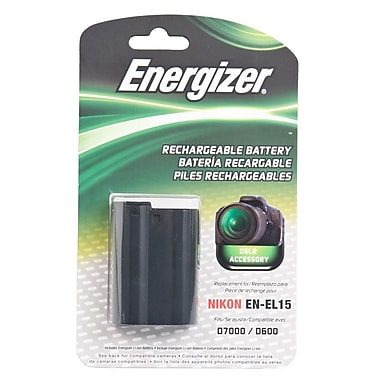 Energizer® ENB-NEL15 Digital Replacement Battery EN-EL15 For Nikon 1 V1
