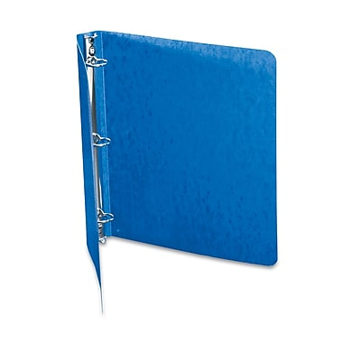 Acco® Recycled PRESSTEX 1in. Capacity Round Ring Binder, Dark Blue