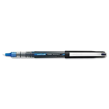 uni-ball® Vision 0.5 mm Micro Roller Ball Gel Pen, Each, Blue