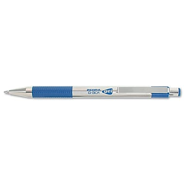 Zebra Pens® 0.7 mm Medium Point Retractable Gel Ink Pen, Blue