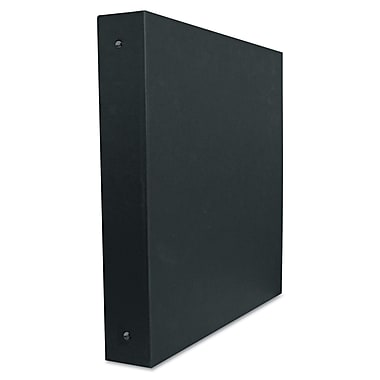Aurora® Elements Ultra Personal 1/2in. Capacity Round Ring Binder, Black