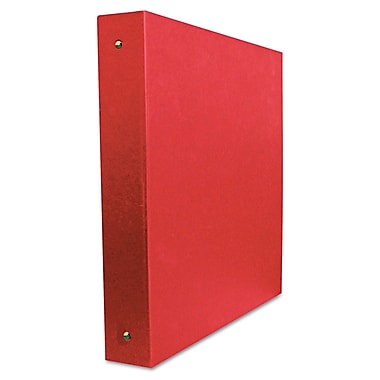 Aurora® Elements Ultra Personal 1/2in. Capacity Round Ring Binder, Red