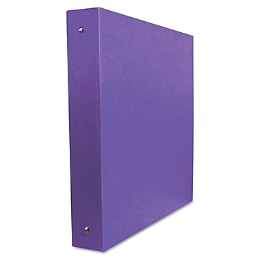 Aurora® Elements Ultra Personal 1/2in. Capacity Round Ring Binder, Purple