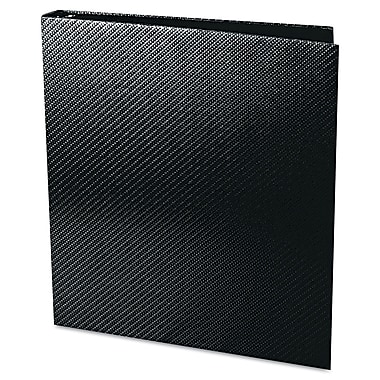 Aurora® Proformance II 1in. Capacity Carbon-X Round Ring Binder, Black