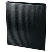 Aurora® Proformance II 1 Capacity Carbon-X Round Ring Binder, Black