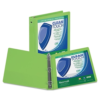 Samsill® Clean Touch 2in. Capacity Antimicrobial Economy View Binders
