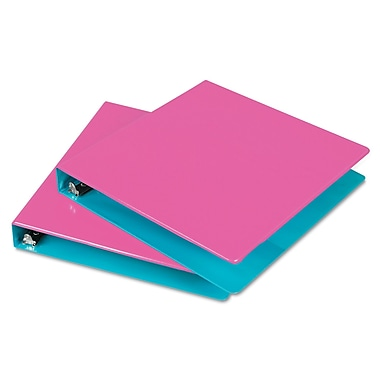 Samsill® Fashion Two-Tone 1in. Capacity Round Ring View Binders