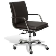 Jesper Office Berg Low Back Conference Chair; Brown