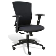 Jesper Office Jesper Office Elsa Ergonomic Office Chair; Black Fabric