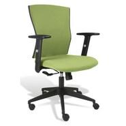 Jesper Office Jesper Office Elsa Ergonomic Office Chair; Green Fabric