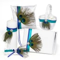 HBH™ 5-Piece Peacock Plume Collection Set, White