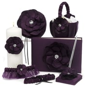 HBH™ 6-Piece Floral Fantasy Collection Set, Eggplant