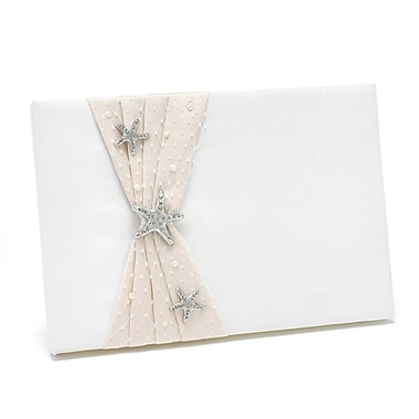 HBH™ Destination Romance Guest Book, Ivory