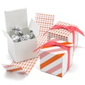 HBH™ Reversible Hearts Wrap Favor Boxes