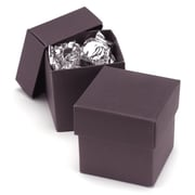 HBH™ 2-Piece Favor Boxes, Raisin