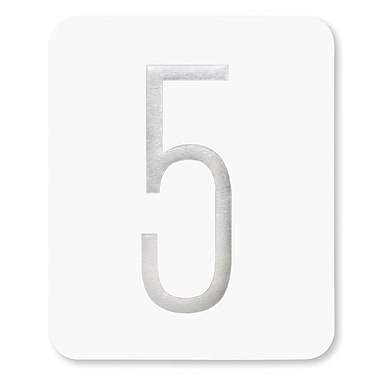 HBH™ Silver Foil Table Numbers Cards