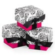 HBH™ 2-Piece Filigree Favor Boxes, Fuchsia