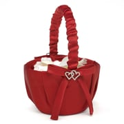 HBH™ All My Heart Basket, Claret Satin