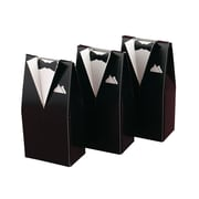 HBH™ Formal Tuxedo Favor Boxes, Black
